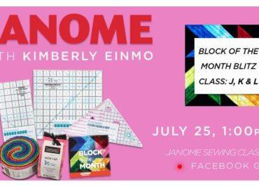 Kim Einmo's Block of the Month Blitz