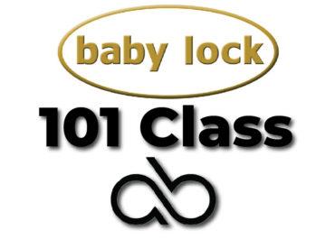 Baby lock 101 Class