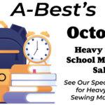 Sale on Heavy Duty School Sewing Machines
