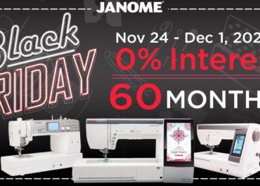 Janome Black Friday Sale